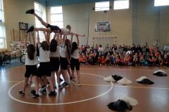 podnoszenie cheerleaerek