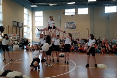 podnoszenie cheerleaderek