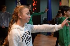 tańczaca dziewczyna